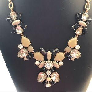 💝JCrew Multicolor Rhinestone Statement necklace💝